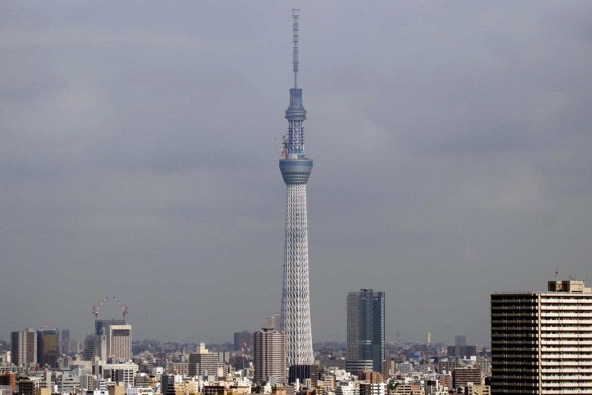 东京天空树*新东京电视塔|634米|建成(世界第一高塔)